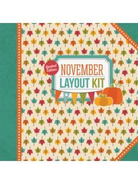 November Layout Kit