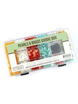 Pearls & Brads Embellishment Kit