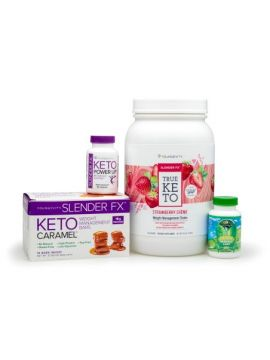Keto 90 Strawberry Creme Shake Pak