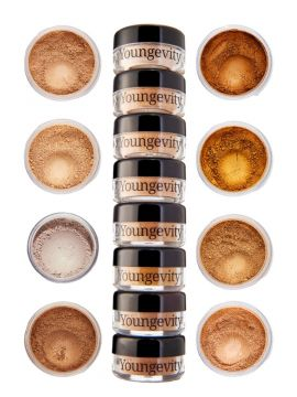 Mineral Makeup Sample Tower - Medium