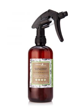 Nature Direct Glass Cleaner and Polisher Applicator Bottle Only - 500ml