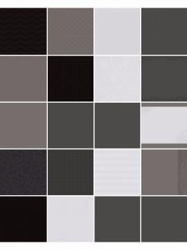 Black Noir Designer Cardstock