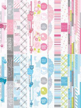 "Baby Bundle by Katie Pertiet 2 x 12"" Border Strips"