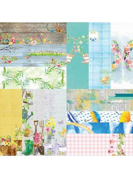 "Springtime by Lauren Hinds 2"" Border Strips - Set 12"