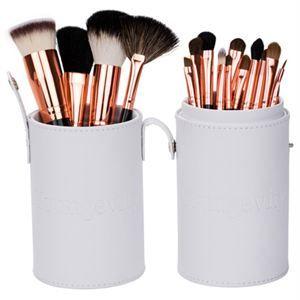 Mineral Makeup Brush Kit White Case
