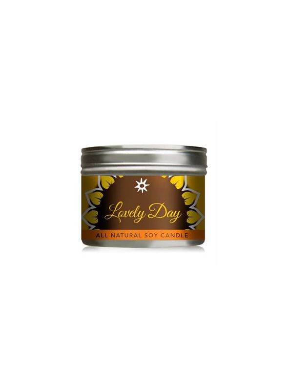 Lovely Day All-Natural Soy Candle In Tin - 10 oz.