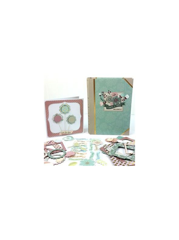 Flowers & Frames Embellishment Kit