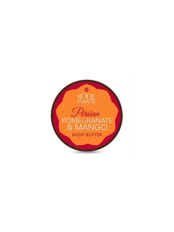 Persian Pomegranate Mango Body Butter - 4 oz.