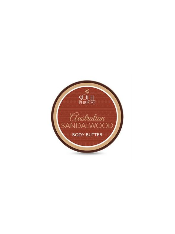 Australian Sandalwood Shea Body Butter - 4 oz.