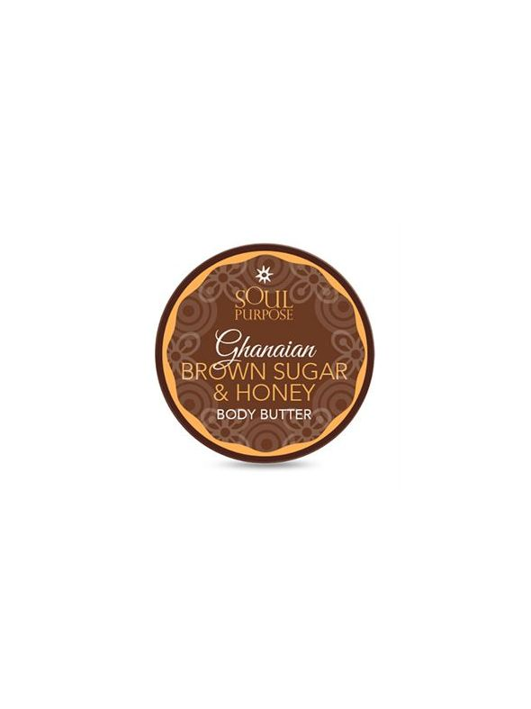 Ghanaian Brown Sugar and Honey Shea Body Balm - 4 oz.