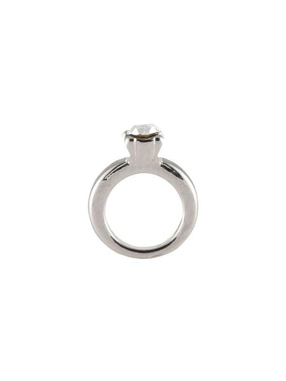 Silver Wedding Ring Charm