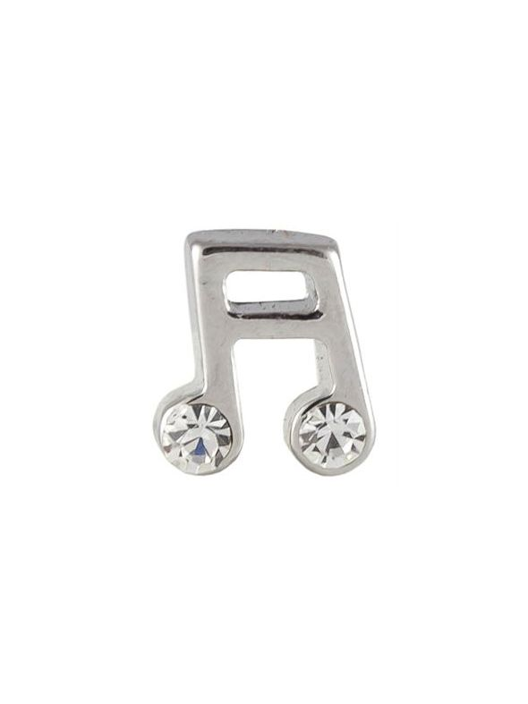 Music Notes Charm