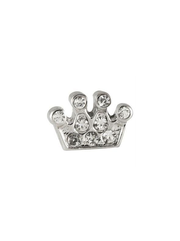 Crystal Crown Charm
