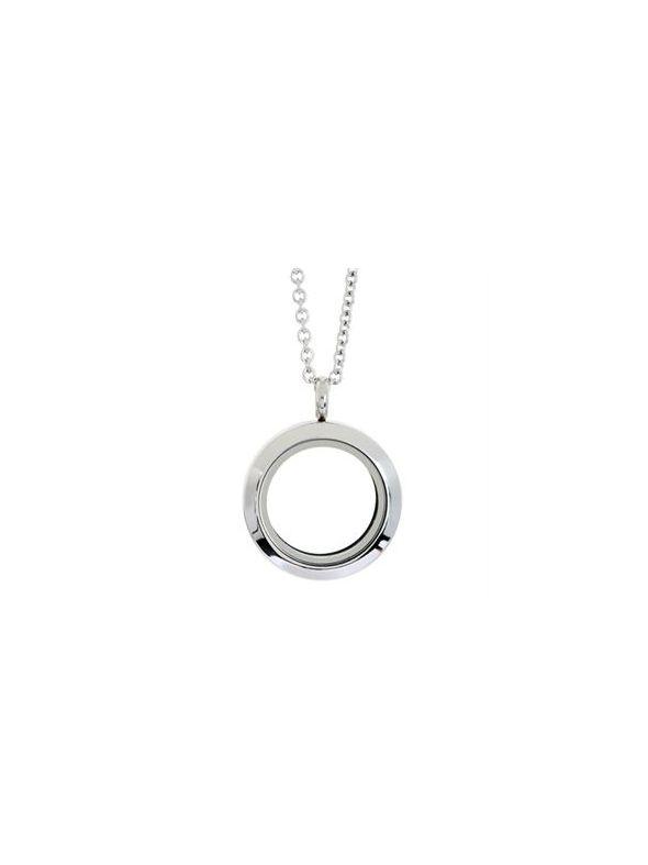 Medium Silver Locket