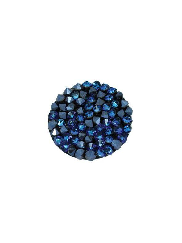 Large Bermuda Blue Crystal Screen