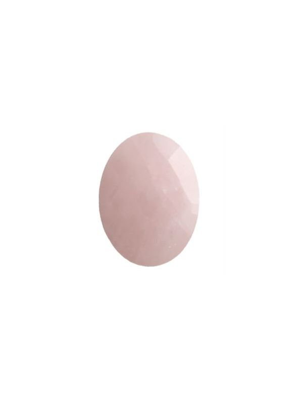 Rose Quartz Oval Stone