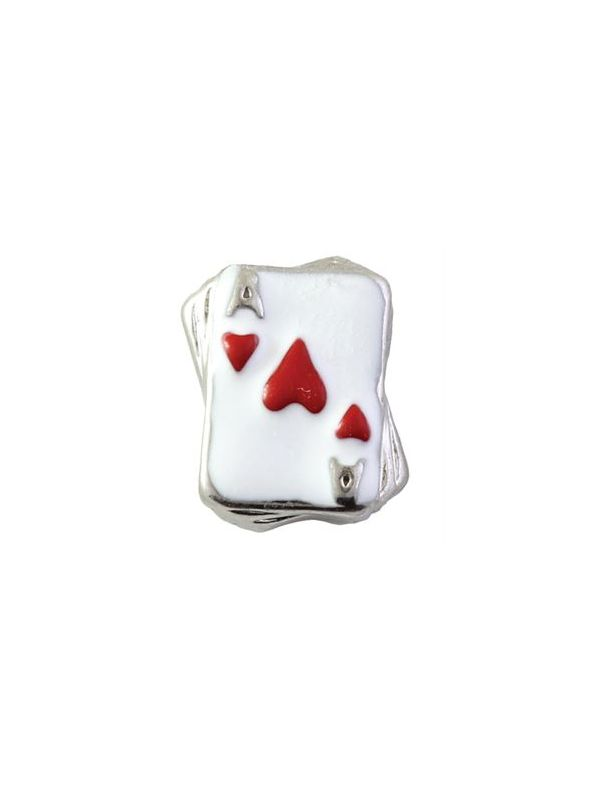 Red Ace of Hearts Charm