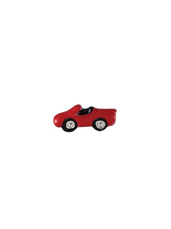 Red Race Car Charm