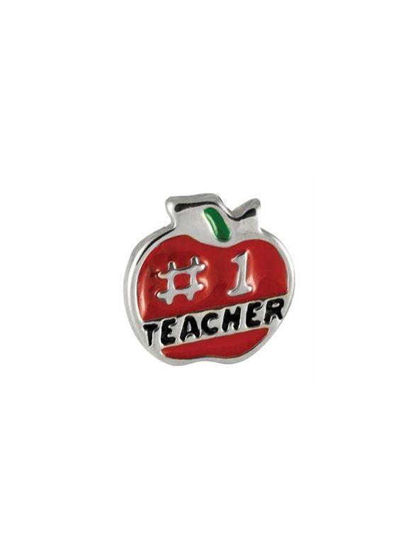 '#1 Teacher' Charm