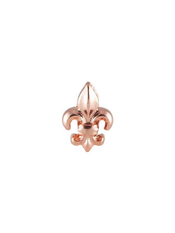 Rose Gold Fleur-De-Lis Charm