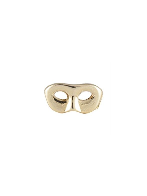 Gold Mask Charm