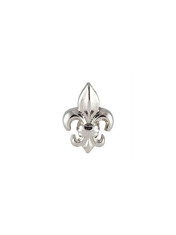 Silver Fleur-De-Lis Charm