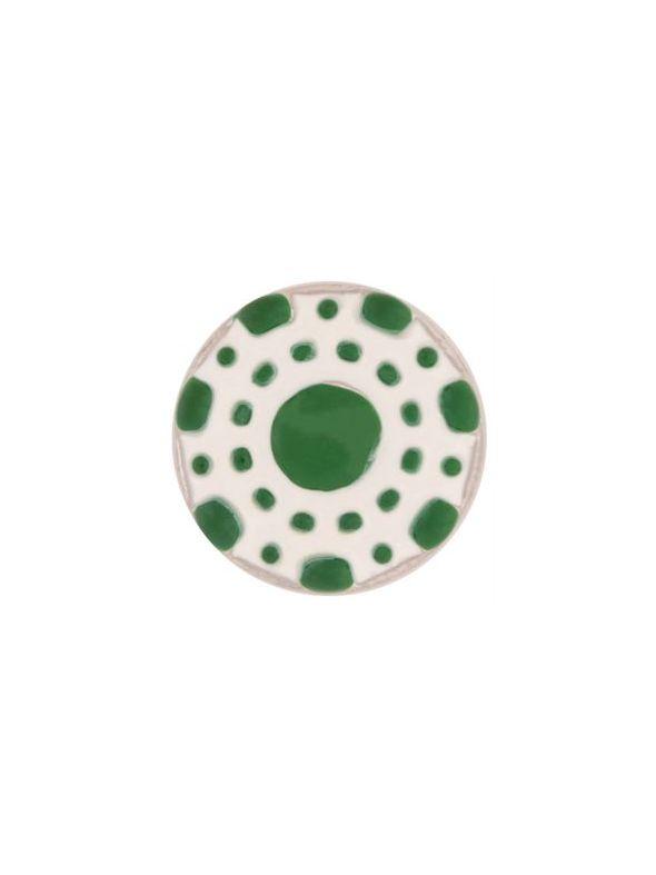 Green Poker Chip Charm
