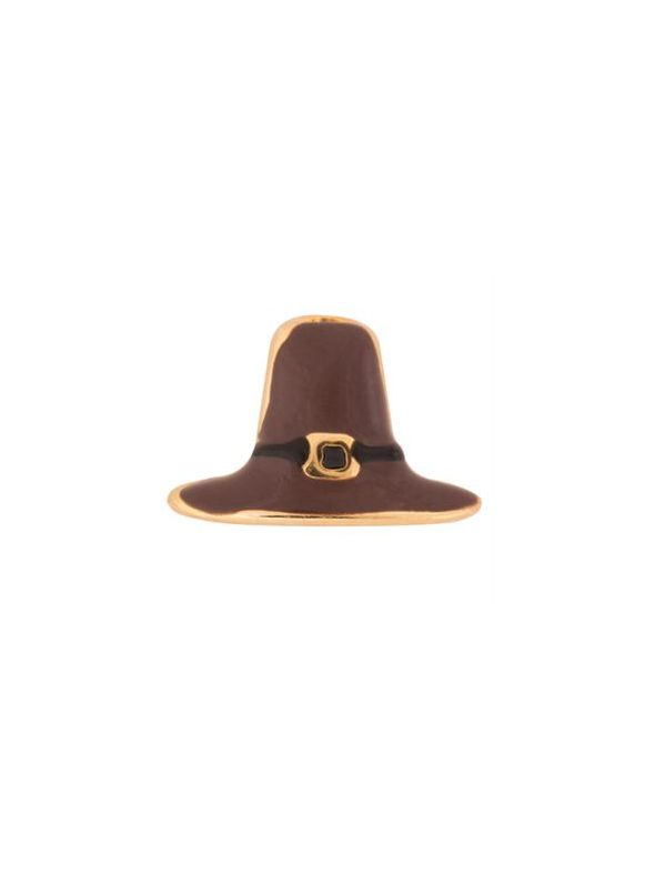 Pilgrim Hat Charm