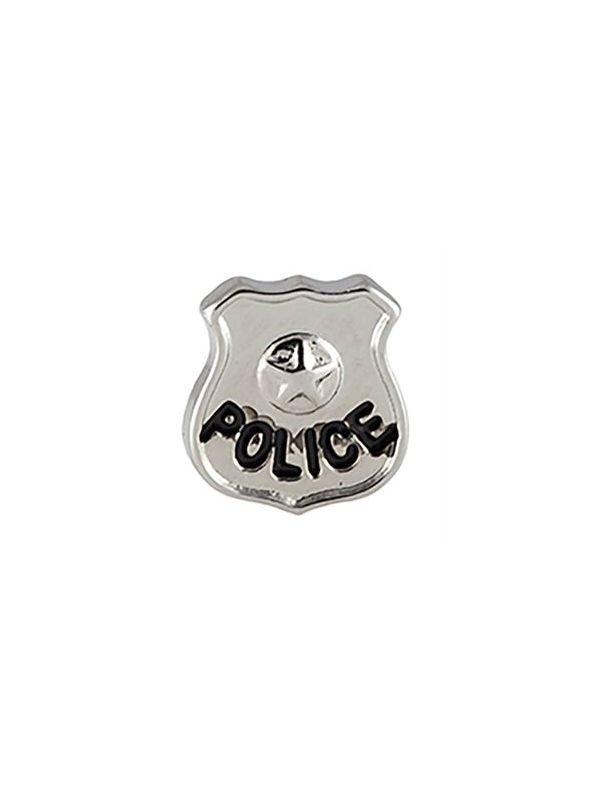 Police Badge Charm
