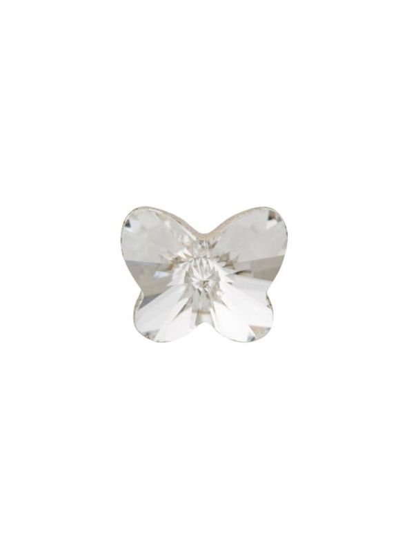 Clear Crystal Butterfly Charm