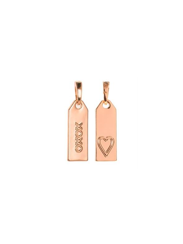 'XOXO' Rose Gold Droplet