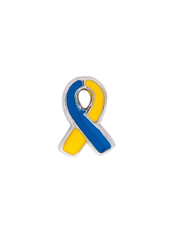 Yellow/Blue Ribbon: Down Syndrome Charm