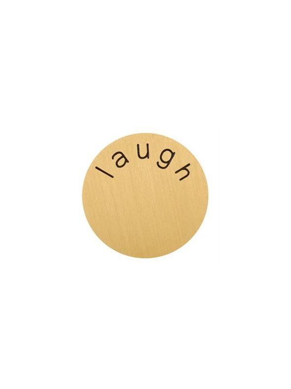 'Laugh' Large Gold Coin