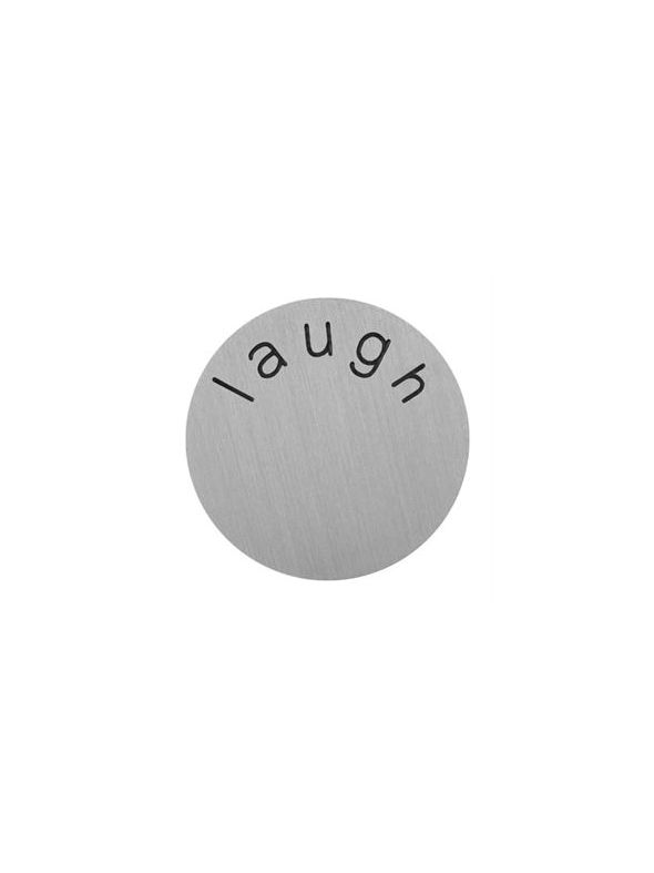 'Laugh' Large Silver Coin