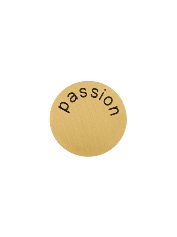 'Passion' Large Gold Coin