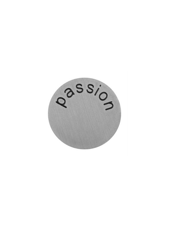 'Passion' Large Silver Coin