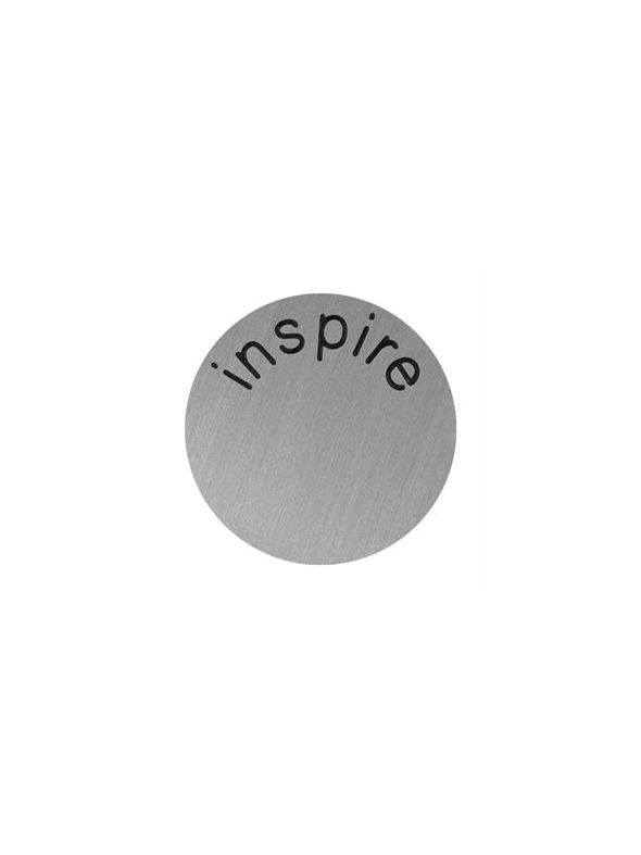 'Inspire' Large Silver Coin