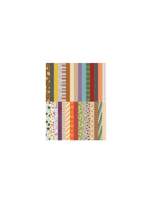All About Fall by Lauren Hinds Pocket Border Strips - Set 30