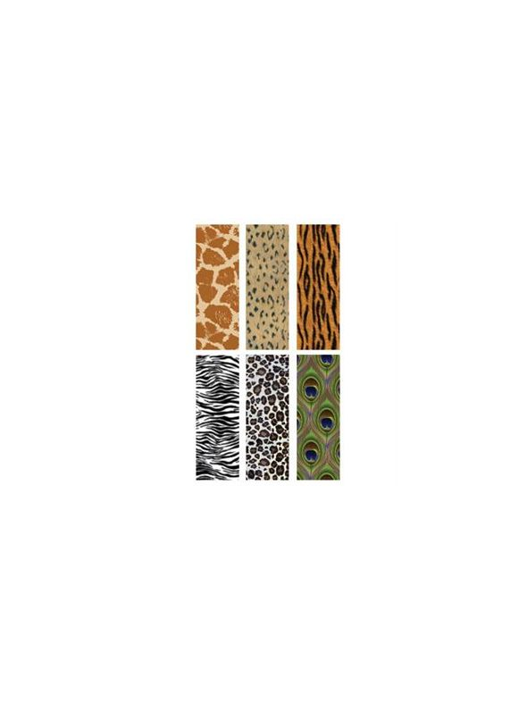 Animal Print Rectangle Locket Backdrops