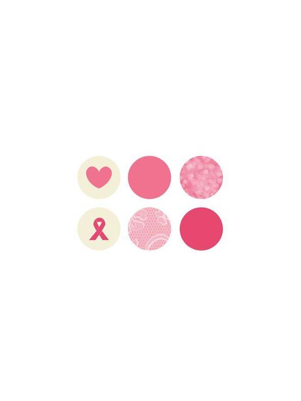 Breast Cancer Awareness Mini Locket Backdrops