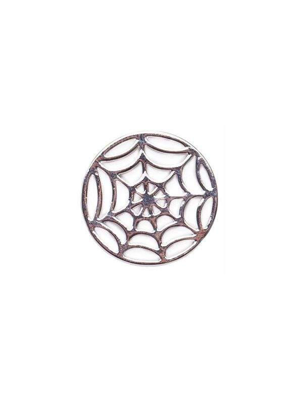 Large Silver Spider Web Screen