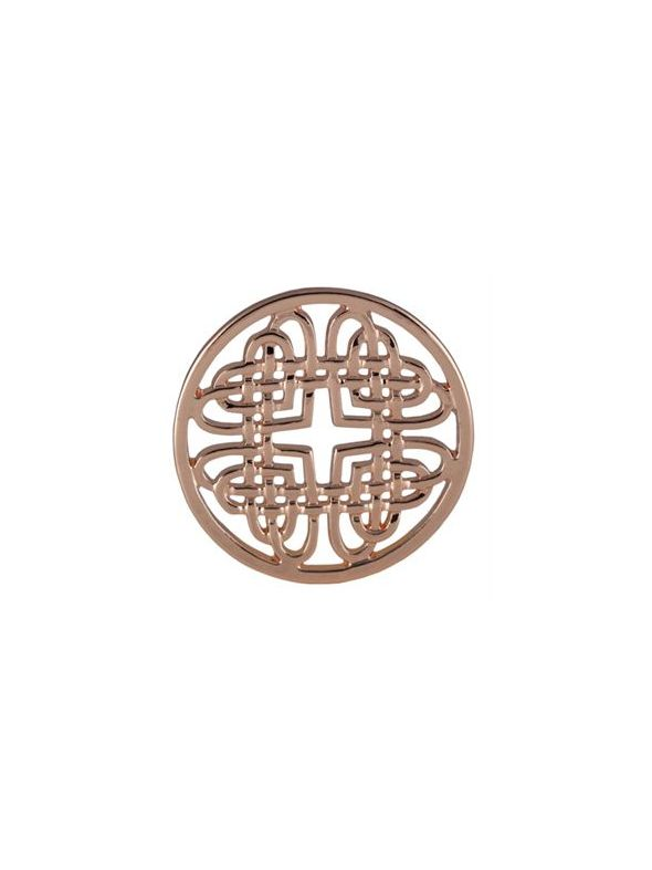 Large Rose Gold Celtic Knot Screen