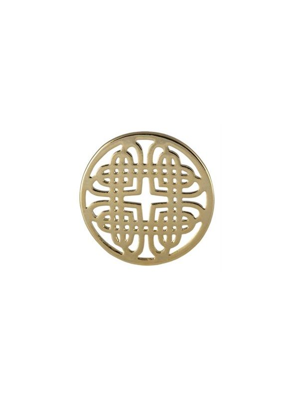 Large Gold Celtic Knot Screen