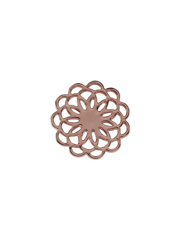 Large Rose Gold Flower Screen