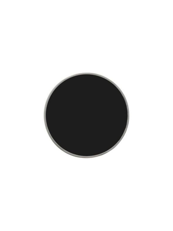 Large Black Enamel Coin