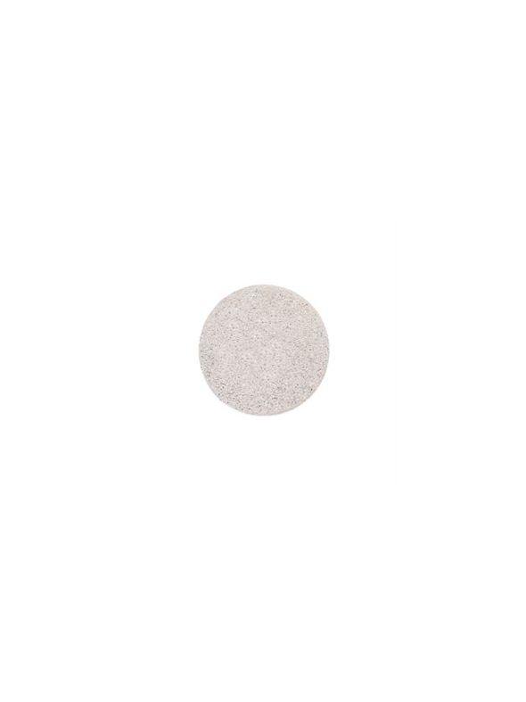Medium Silver Diamond Dust Coin