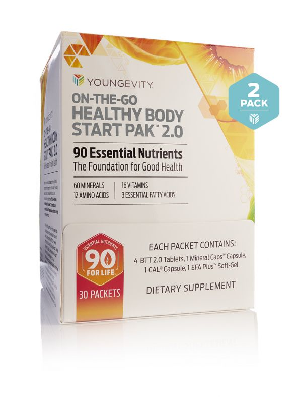 On-The-Go Healthy Body Start Pak™ 2.0(30ct) 2 boxes