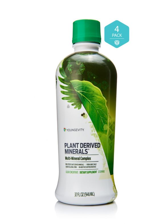 Plant Derived Minerals™ - 32 fl oz (4 Pack)