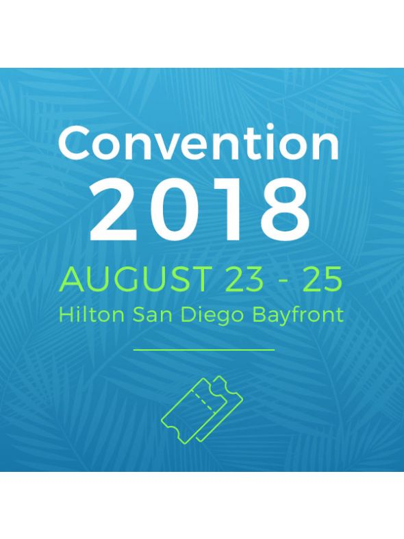 2018 Convention Ticket – Better Together
