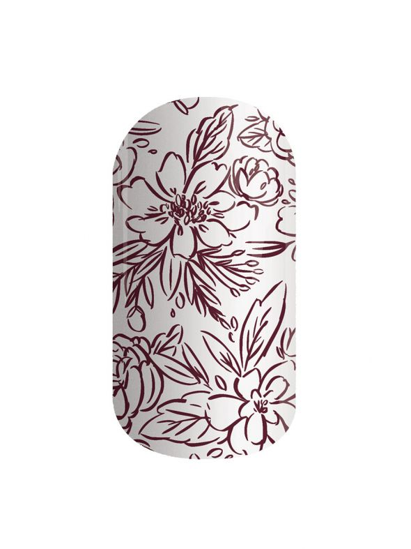 Fairytale Florals - Nail Lacquer Strips